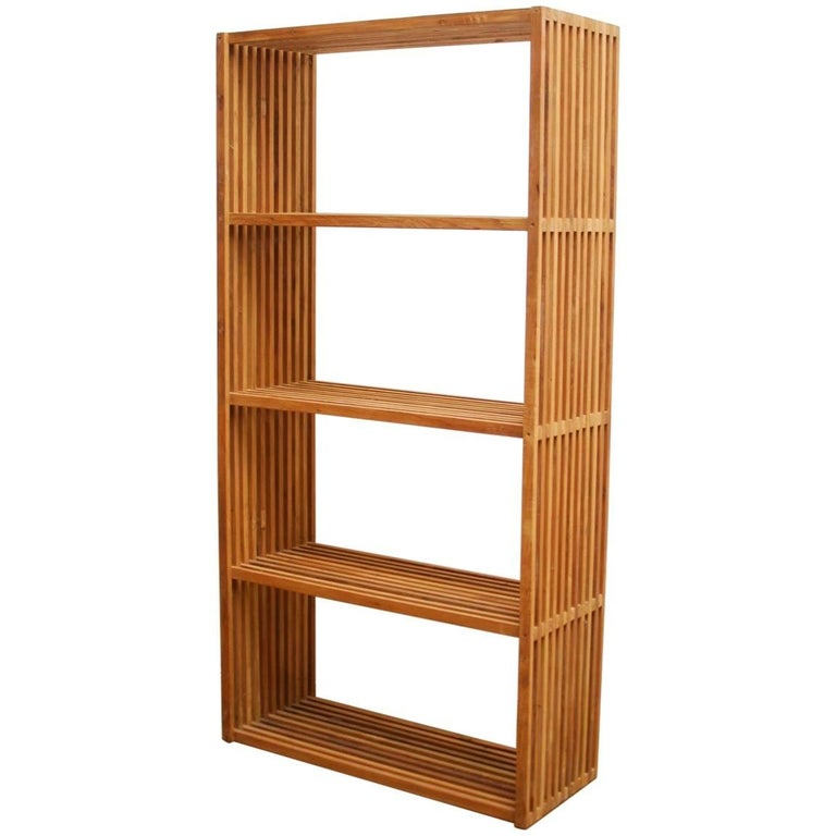 Midcentury Teak Display Shelves or Bookcase