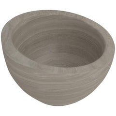Salvatori Uovo Basin in Silk Georgette® Natural Stone