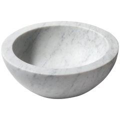 Salvatori Zuppiera Basin in Bianco Carrara Marble