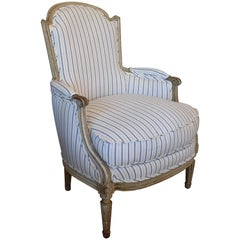 Early 19th Century Painted French Bergere