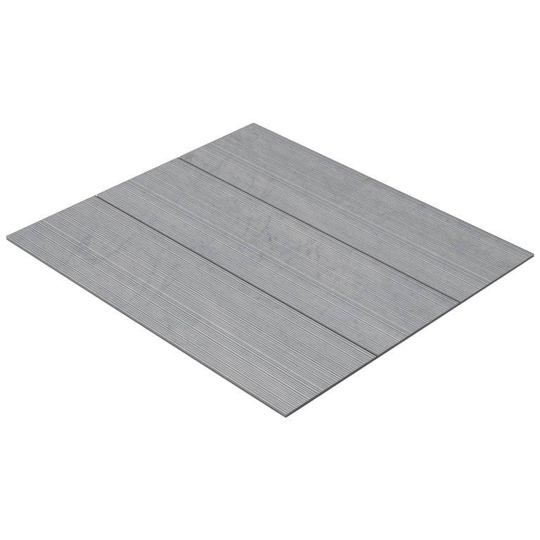 Salvatori Filo Flush 3 / 100 Shower Tray in Bamboo Texture Bianco Carrara Marble For Sale