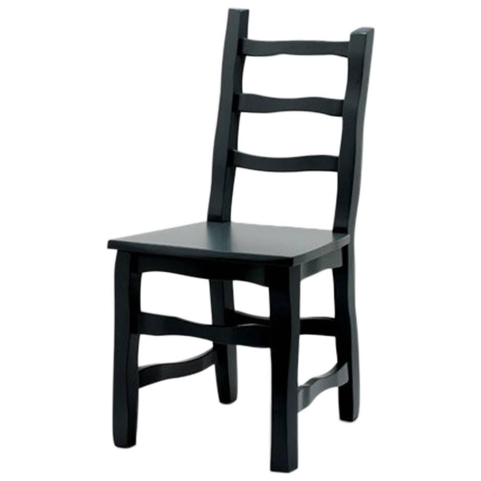 Established & Sons Standard Unique Dining Chair in Black Grey