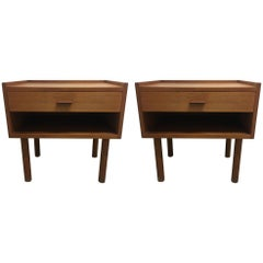 Pair of Bedside Tables by Hans Wegner