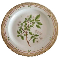 Royal Copenhagen Flora Danica Large Round Serving Tray #3577