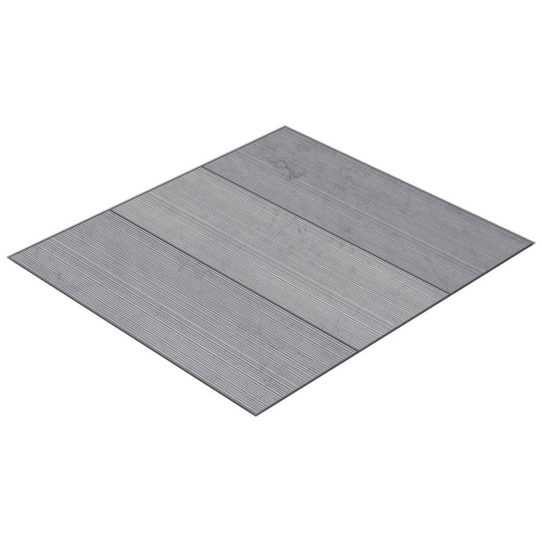 Salvatori Filo Flush 3 / 80 Shower Tray in Bamboo Texture Bianco Carrara Marble For Sale