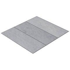 Salvatori Filo Flush 3 / 80 Shower Tray in Raw Texture Bianco Carrara Marble