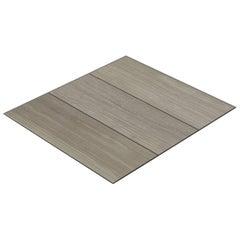 Salvatori Filo Flush 3 / 80 Shower Tray in Raw Texture Silk Georgette® Stone