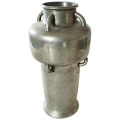 Mogens Ballin Pewter Vase with Many Handles