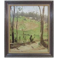 Australian Landscape Painting Hayward Veal