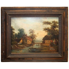 Charming French 19th Century Painting