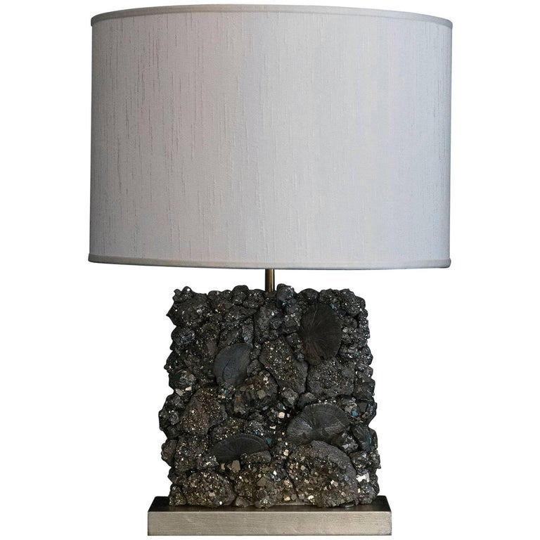 Flair Edition Pyrite Table Lamp