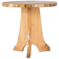 Poplar Occasional Table by Sigvard Nilsson