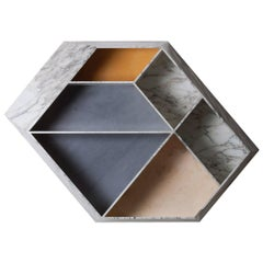 Earthquake Marble Bookshelf