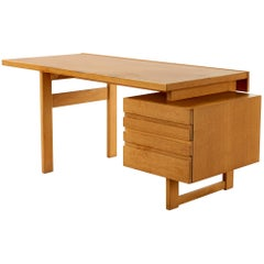 Desk Board in Oak Olavi Hanninen Finland, 1950