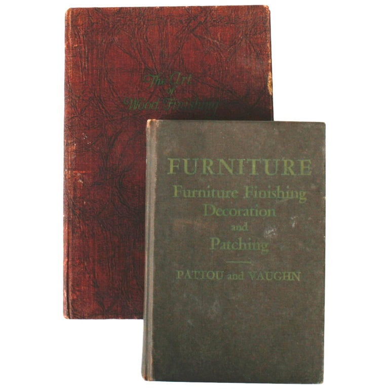 Two Books on Furniture Finishing and Restoration