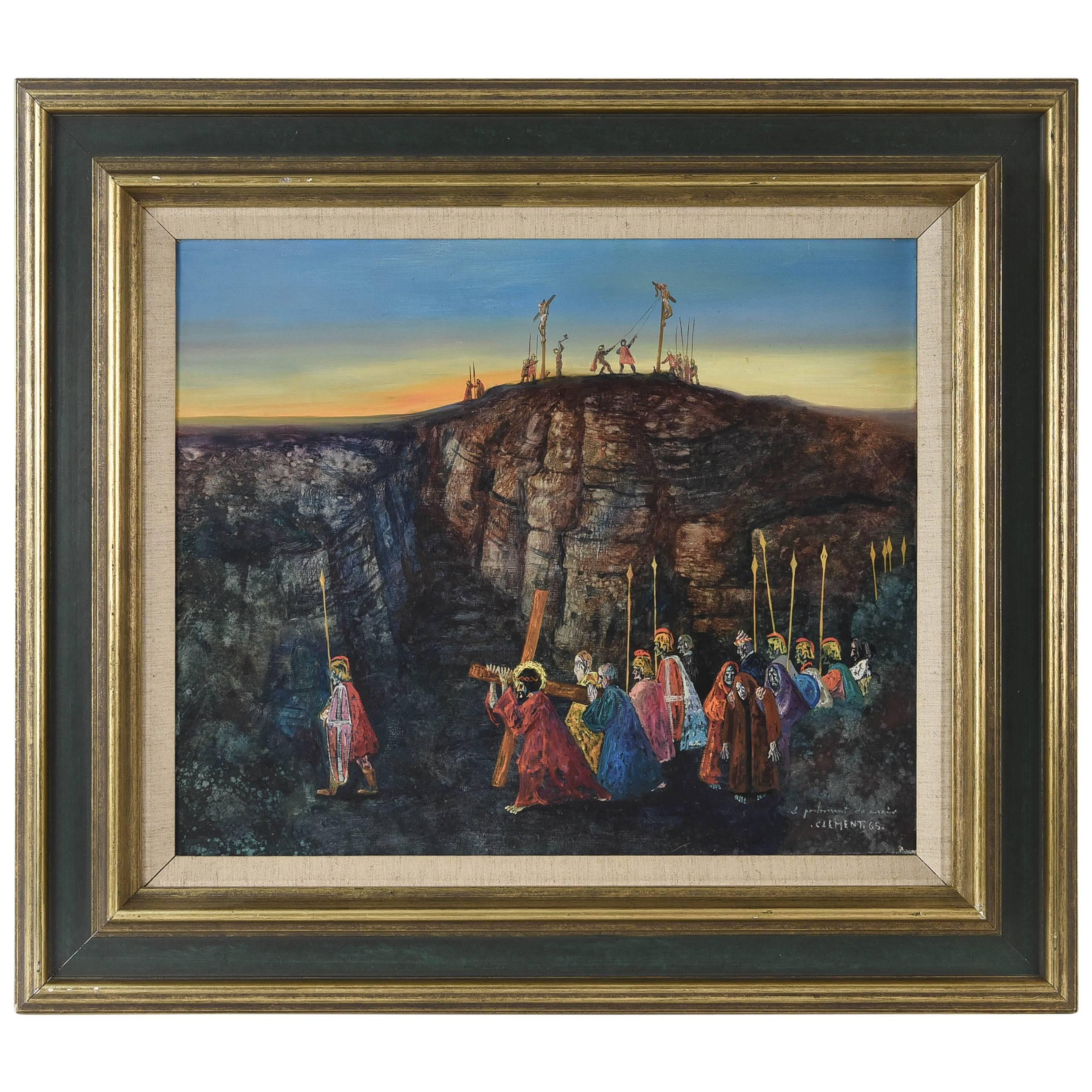 Jean-Pierre Clement Painting