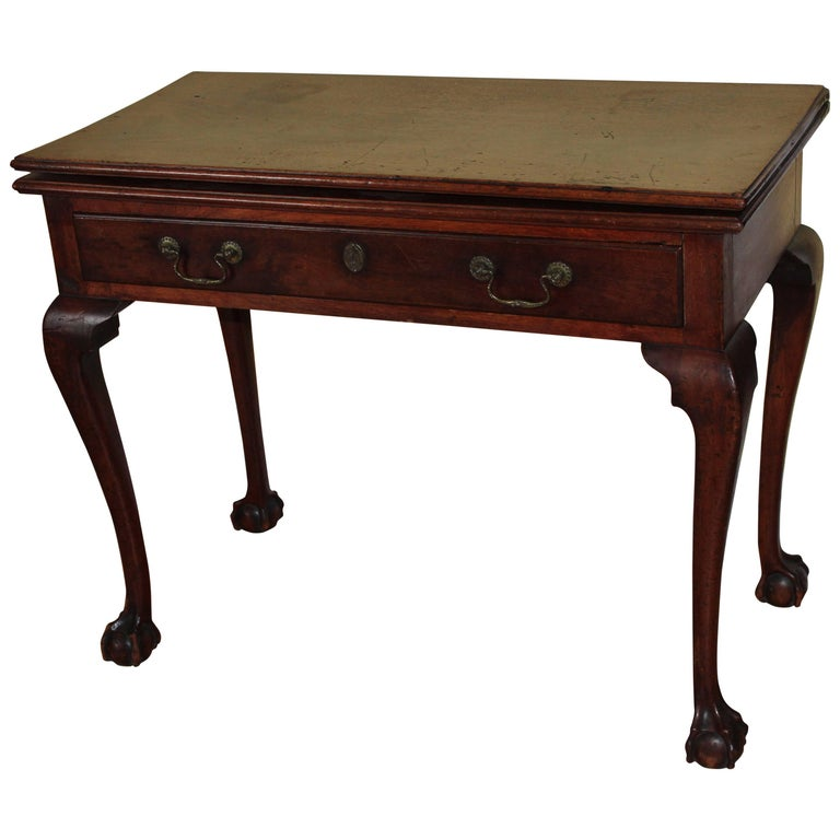 Mahogany Philadelphia Chippendale Card Table