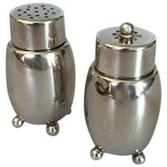 Mogens Bjørn-Andersen Sterling Silver Salt and Pepper Set