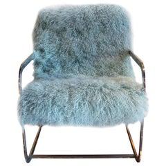 Vintage Chrome Armchair