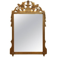 Classic Neoclassical Gilded Mirror