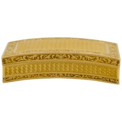 Antique Gold Snuffbox by Adrien-Maximilien Vachette, Paris, 1795-1797