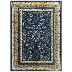 Vintage Chinese Rug Carpet Circa 1940 10'3 x 13'10