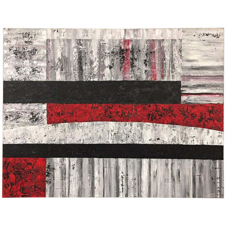Wanderings Acrylic on Canvas Abstract Painting Kevin Palmer