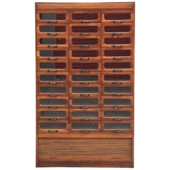 Large English Haberdasher's Cabinet