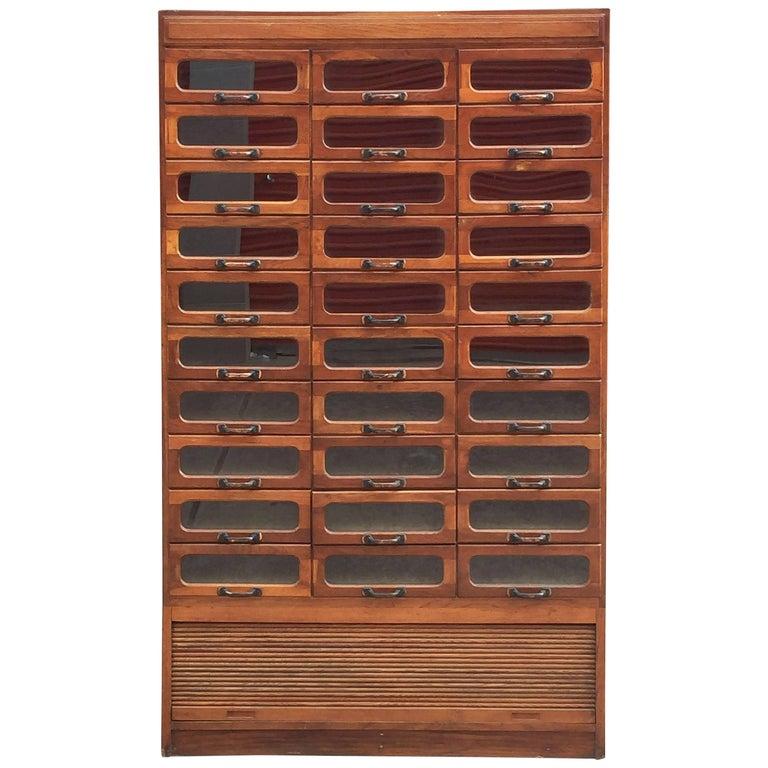 Large English Haberdasher's Cabinet