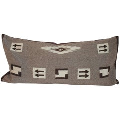 Navajo Indian Weaving Bolster Pillow, Large