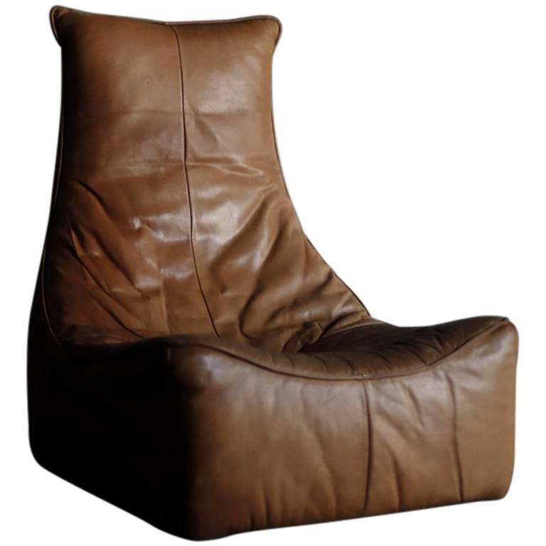 """The Rock"" Gerard van den Berg Leather Sofa"