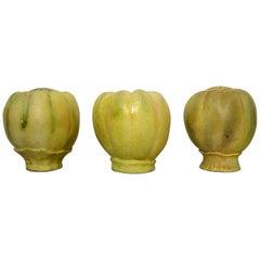 Alf Ekberg, Swedish Ceramist, Three Large Unique Sculptures in Ceramics