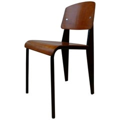 Jean prouve 39 furniture chairs sofas tables more 77 for Chaise jean prouve
