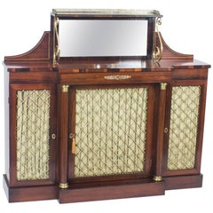19th Century Regency Rosewood Chiffonier Sideboard