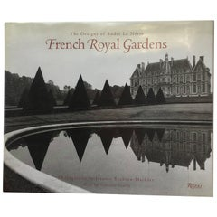 """French Royal Gardens: The Designs of André Le Nôtre"" Book"