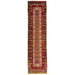Old Elegant Turkish Runner Kilim Keissary