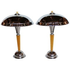 Art Deco Domes Table Lamps