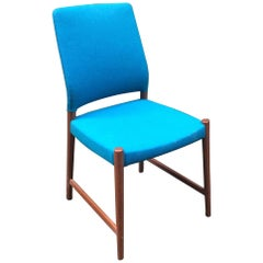 Scandinavian Modern Teak Side Chair