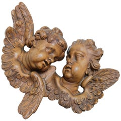 Carved Cherubs, Late 1800s
