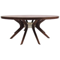 Midcentury Broyhill Cathedral Coffee Table