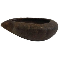 Early 20th Century Hand-Carved Brazilian Soap Stone Bowl