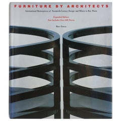 Furniture by Architects –Marc Emery 1988