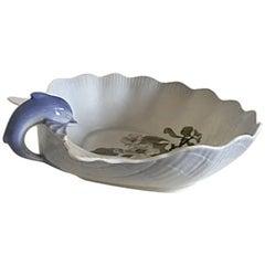 Royal Copenhagen Art Nouveau Dolphin Dish #53/17