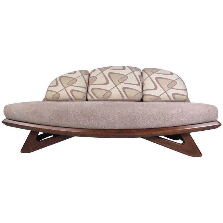 Adrian Pearsall Style Mid-Century Modern Sofa
