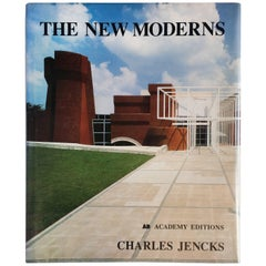 """The New Moderns-Charles Jencks"" Book, First Edition, 1990"