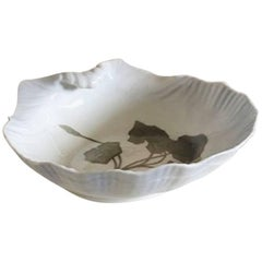 Royal Copenhagen Art Nouveau Dish Formed as a Shell #4/17B