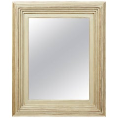 Degas No. 1 Contemporary Wall Mirror, Gilded in 16kt Gold, by Bark Frameworks