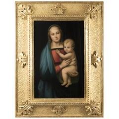 19th Century Copy of Raphael's Madonna del Granduca