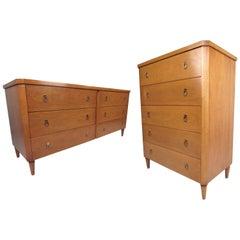 Midcentury Dressers by T.H. Robsjohn-Gibbings for Widdicomb