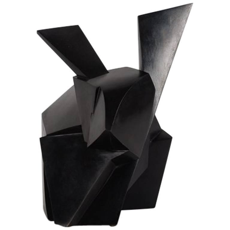 Jacques Owczarek, Jokio, Sculpture of a Rabbit, France, 2016 For Sale